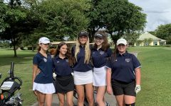 The members of the West Boca Girls golf team.
