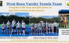 West Boca's Tennis Players Cause a Racket