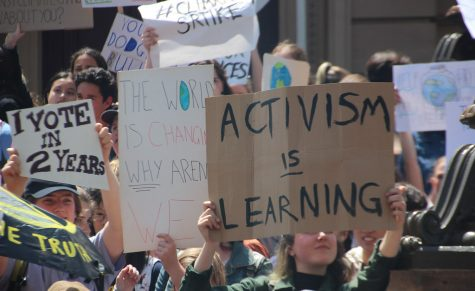 Many students have used social media as another tool for activism.